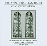 Bach BACH- Organ Works Complete /WOLFGANG STOCKMEIER