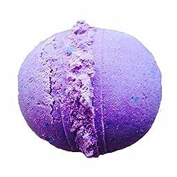 SHUG Blackberry & Vanilla Bath Bomb by Soapie Shoppe 7-8 oz. Jumbo Bomb Amazing Scent! Smells like Wild blackberries!