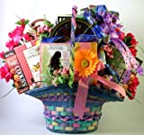 Abundant Easter   Deluxe Easter Gift Basket of Easter Chocolates and Cookies