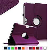 Fintie (Purple) 360 Degrees Rotating Stand Case Cover for Samsung Galaxy Note 10.1 inch Tablet N8000 N8010 N8013...