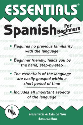 Spanish for Beginners (Essentials Study Guides) (English and Spanish Edition)