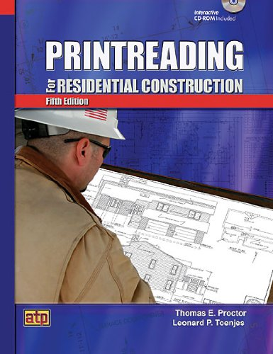 Print Reading for Residential Construction - 5th Edition - Soft-cover with CD-ROM - Amer Technical Pub - AT-0478 - ISBN: 0826904785 - ISBN-13: 9780826904782