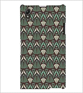 PrintDhaba Pattern D-5213 Back Case Cover for SONY XPERIA Z1 (Multi-Coloured)