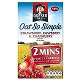 Quaker Oat So Simple Strawberry, Raspberry & Cranberry (10 per pack - 339g)