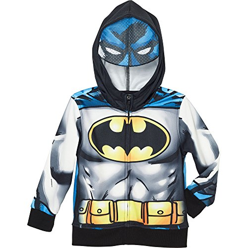 Superhero-Little-Boys-Zip-Up-Fleece-Hoodie-With-Mesh-Mask