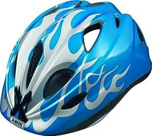 Abus Super Chilly Casque vélo enfant X-Flame Blue XS/45-50 cm