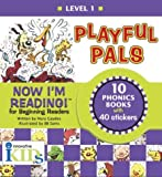 Now I'm Reading!: Playful Pals - Level 1