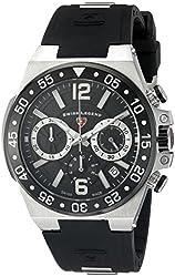 Swiss Legend Men's 14086SM-01-BB Opus Analog Display Swiss Quartz Black Watch