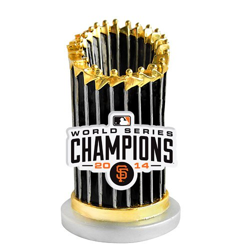 Sf Giants 2014 World Series Champions Trophy Ornament