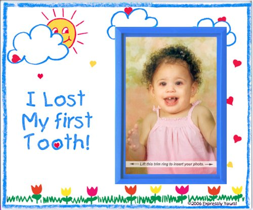 I Lost My First Tooth! - Picture Frame Gift