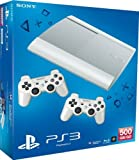 Sony Playstation 3 Super Slim 500GB white incl. 2 Controller