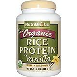 Amazon.com: Nutribiotic Organic Rice Protein, Vanilla, 3