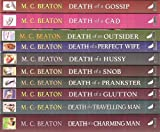 Hamish Macbeth Collection: 10 books RRP £63.90 - Death of a ...... Gossip, Cad, Outsider, Perfect Wife, Hussy, Snob, Prankster, Glutton, Travelling Man & Charming Man M.C. Beaton