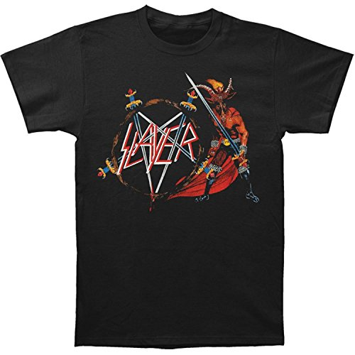 Global Merchandising Slayer Show No Mercy T-shirt, Black - Large