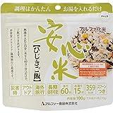 アルファー食品 安心米 ひじきご飯 100g