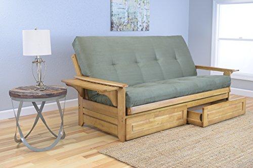 rosemount-full-size-sofa-futon-and-drawer-set-honey-oak-wood-frame-and-suede-innerspring-mattress-ol