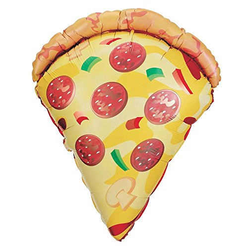 "Betallic 29"" Mylar Pizza Slice Super Shape Balloon"