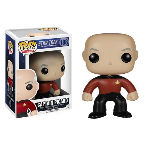 Star Trek: The Next Generation Captain Jean-Luc Picard Pop! Vinyl Figure - 1