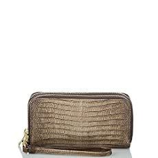 Zoe Wallet<br>Sable Fashion Lizard