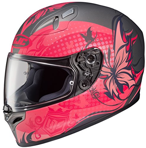 HJC FG-17 Flutura Full-Face Motorcycle Helmet (MC-8F, Small)
