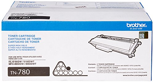Brother Printer TN780 Super High Yield Toner Cartridge