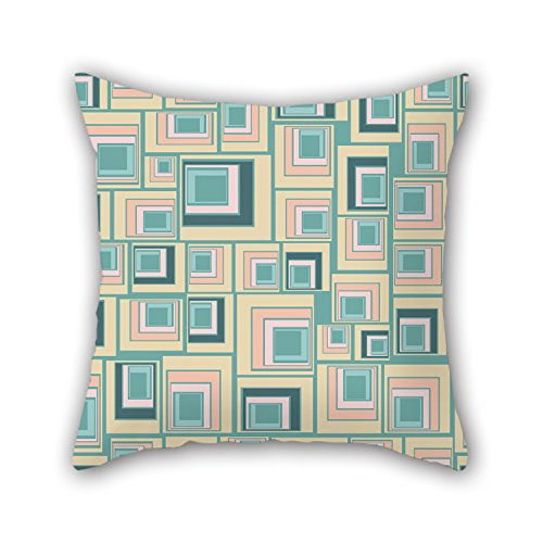 NICEPLW Cushion Covers Of Colorful Geometry,for Dinning Room,monther,living Room,divan,festival 18 X 18 Inches / 45 By 45 Cm(both Sides) (Oasis Bunch Cutter compare prices)
