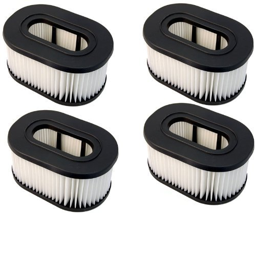 Hqrp Filter 4-Pack For Hoover 40130050 43615090 Fits U5173900 5173900 U5173950 5173950 Runabout Upright Vac Vacuum Cleaner + Hqrp Coaster front-305629