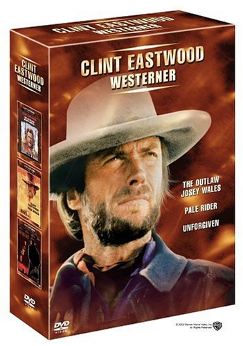 Clint Eastwood - Westerner (The Outlaw Josey Wales / Pale Rider / Unforgiven / 3 DVD Set