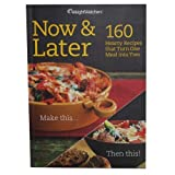 img - for Weight Watchers Now & Later (160 Hearty Recipes that Turn One Meal into Two) book / textbook / text book