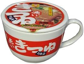 マルちゃん赤いきつね 蓋付きマグカップ