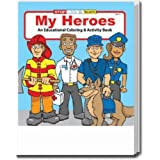 My Heroes Coloring and Activity Book Trade Show Giveaway