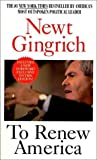 To Renew America (0061095397) by Gingrich, Newt