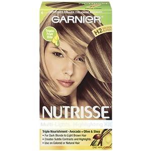 Garnier Nutrisse Permanent Creme Haircolor, #H2 Golden Blonde