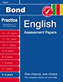 Sarah Lindsay Bond Introductory Papers in English 5-6 Years (Bond Assessment Papers)