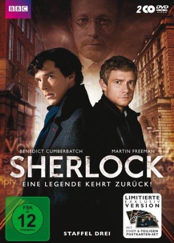 Sherlock - Staffel 3 inklusive Postkartenset (exklusiv bei Amazon.de) [Limited Edition] [2 DVDs]