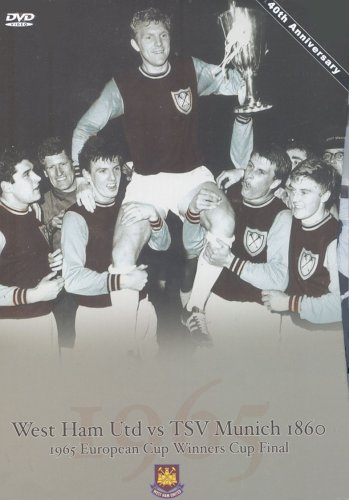 1965 European Cup Winners Cup West Ham United v 1860 TSV Munchen [DVD]