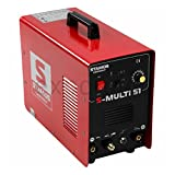 Stamos Germany - S-MULTI 51 - Kombi-Schweißgerät - DC WIG - Plasmaschneider - MMA - 230 V - max. 180 A - ED 60% - HF - 11