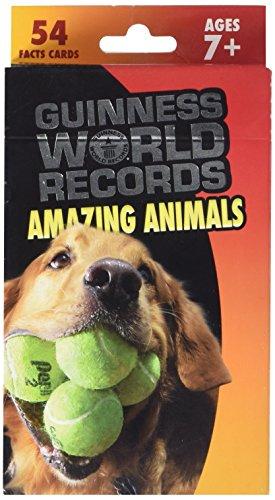Carson-Dellosa Guinness World Records Amazing Animals Flash Card