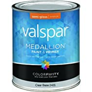 Valspar 027.0002405.005 Medallion 100% Acrylic Interior Latex Semi-gloss Wall And Trim Paint