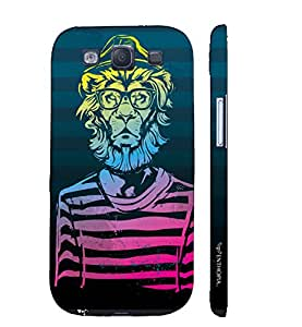 Samsung Galaxy S3 Neo Be A Man! designer mobile hard shell case by Enthopia