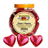 Sweet Hearts Chocolate Pralines with Rose Filling - 400g Jar