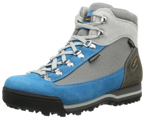 AKU Womens Ultralight GTX Trekking & Hiking Shoes Gray Grau (grey/turquoise 241) Size: 39.5