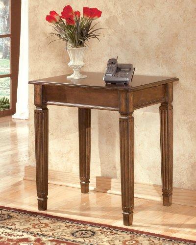 Traditional Medium Brown Hamly Office Corner Table