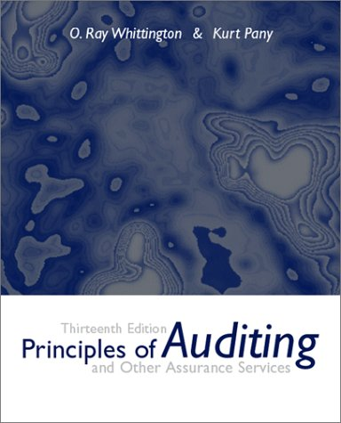 Principles of Auditing and Other Assurance Services w/ Enron Powerweb