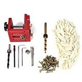 Hitommy Pocket Hole Drill Guide Dowel Jig Set Woodworking Joinery Master Kit For Kreg Carpentry