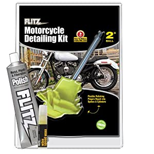 Flitz CY 61501 Mixed Motorcycle Detailing Kit