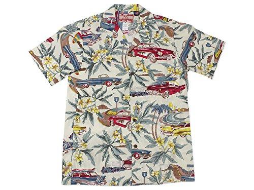 アールジェイシー [ROBERT J. CLANCEY LIMITED] 半袖 アロハシャツ #102C ハワイ製