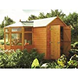 10FT x 10FT DELUXE CORNER POTTING TONGUE & GROOVE SHED
