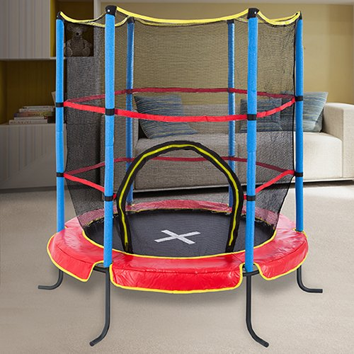 ultrasport kindertrampolin indoortrampolin jumper 140 trampoline. Black Bedroom Furniture Sets. Home Design Ideas
