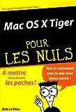 echange, troc Bob LeVitus - Mac OS X Tiger